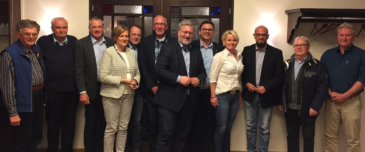 Der Vorstand des MIT Kreisverband Ammerland.
