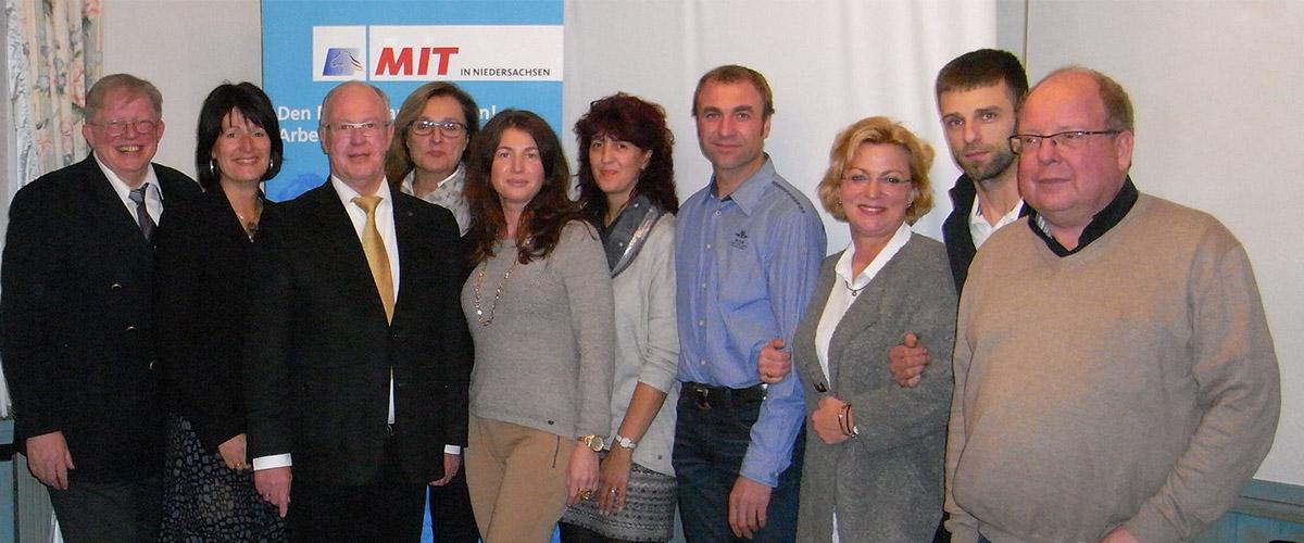 Der Vorstand des MIT Kreisverband Delmenhorst